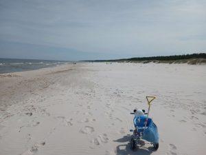 Słoneczna Polana Słajszewo Morze Bałtyckie plaża Domki do wynajęcia